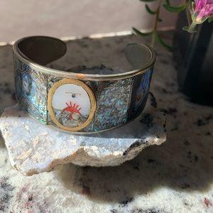 SunRise Free Bird Sterling Silver Cuff Bracelet